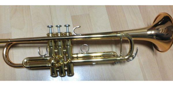 Yamaha Bb-Trompete YTR5335G Goldlack generalüberholt