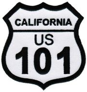 California Highway Patch Aufnäher