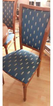 Runder Esszimmertisch mit 4 Stühlen