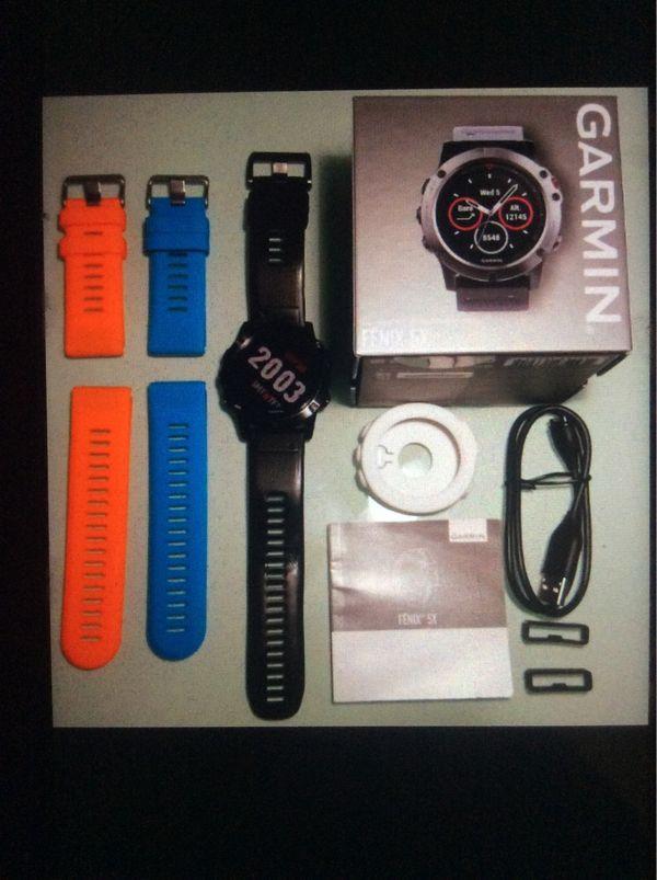 Garmin Fenix 5X Polar Uhr