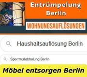Berlin Möbel Wohnungsauflösungen zum Pauschalpreis