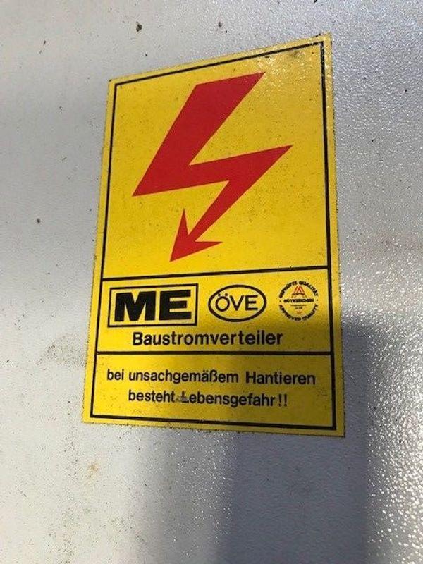 SONDERANGEBOT MEHLER BAUSTROMVERTEILER incl Untergestell