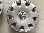 4 Stück original VW Radzierblenden