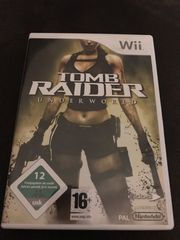 Wii Spiel Tomb Raider Underworld