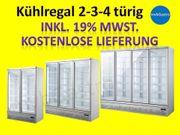 Glastür Kühlschrank Gastro Getränkekühlschrank Wand