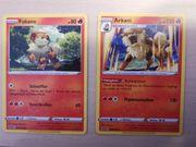 Fukano Arkani Pokemonkarten NEU Clash
