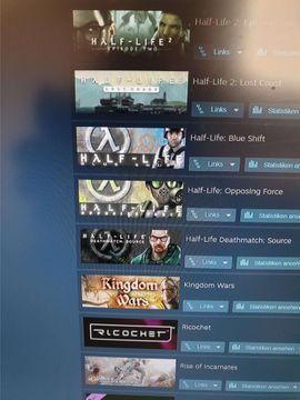 Steam Account mit 63 Spiele: Kleinanzeigen aus Wien - Rubrik Software: Anwendungen, Tools