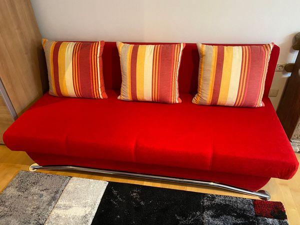 Sofa Couch mit Schlaffunktion und