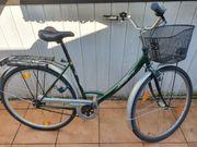 MaKno Damenrad mit großem Korb