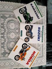 3 schöne Motorradbücher
