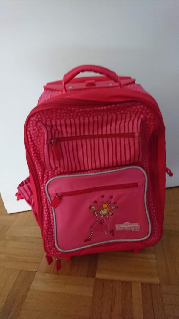 sigikid Kinderkoffer - rosa mit Prinzessin