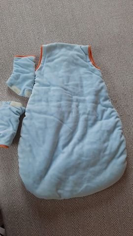 Baby- und Kinderartikel - Sterntaler Winterschlafsack 60cm abnehmbare Ärmel