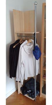 Jugendzimmer Garderobe mit Ablage und