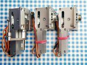 Kompl elektrisches Einziehfahrwerk 3Stück von
