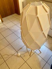 IKEA SJÖPENNA Standleuchte Stehlampe weiß