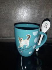 Tasse Katzenmotiv