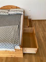 Doppelbett Massivholz 1 45m x