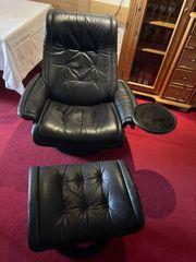 Stressless Sessel schwarz XL Sitzbreite