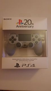 PS4 Controller 20th anniversary Edition