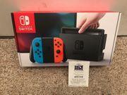 Nintendo Switch mit 5 Spielen