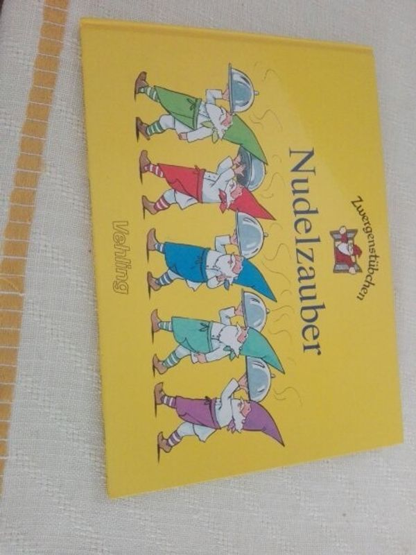 Kinderkochbuch Nudelzauber