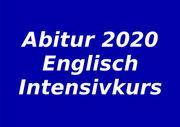 Nachhilfe Oberstufe Abiturvorbereitung Englisch Intensivkurs