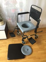 WC STUHL DUSCHSTUHL Rollstuhl Nachtstuhl