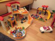Playmobil Kita Sonnenschein mit Spielplatz