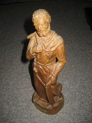 Heiliger Josef Zimmermann Holz-Figur Holz