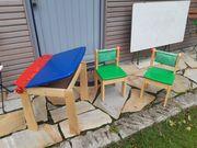 Kindermaltisch mit Stühlen