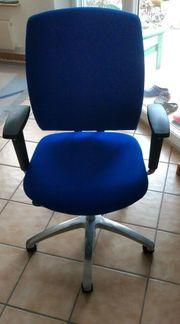 Bürodrehstuhl Drabert Endrada blau