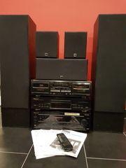 Pioneer Stereoanlage mit Boxen