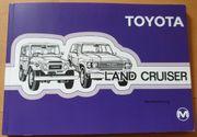 Toyota Landcruiser Betriebsanleitung
