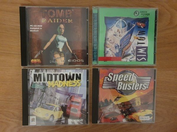 CD-ROM Midtown Madness Speed Busters