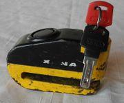 Alarm-Bremsscheibenschloss XENA mit 2 Schlüsseln