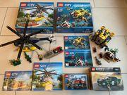 3x LEGO CITY 60067 60092