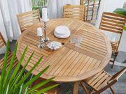 Gartentisch Akazienholz ø 150 cm
