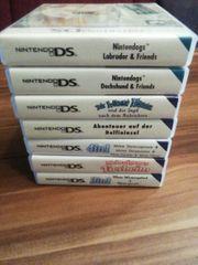 Nintendo DS verschiedene Spiele mit
