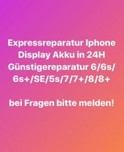 iphone Expressreparatur ALLE MODELLE in