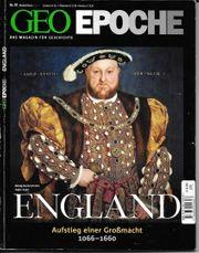 GEO Epoche Nr 49 England -