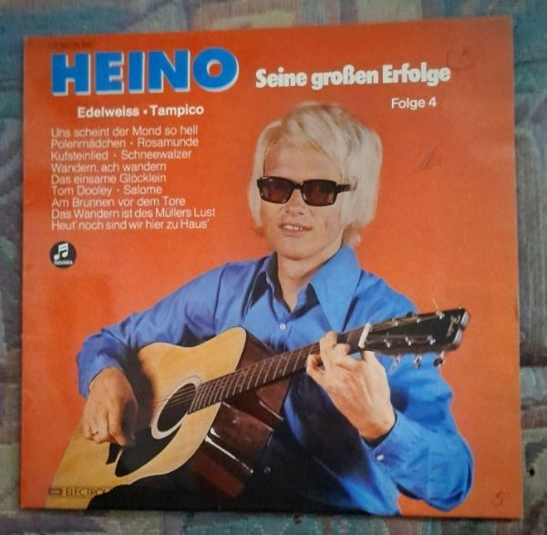 Vinyl 12 Lp Schallplatte Heino