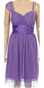 Schönes Chiffon Kleid Gr 40