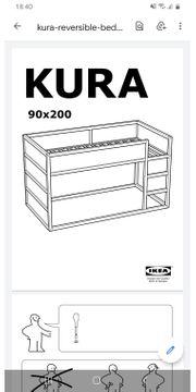 Zu verschenken Ikea Hochbett Kura