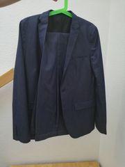 Konfirmationsanzug Größe 176 Blau