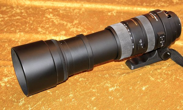 Sigma Objektiv DG 150-500mm 1