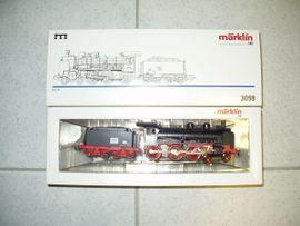 Märklin HO neu MHI 3098 BR 38 Lok Sonneberg DDR Set 47895