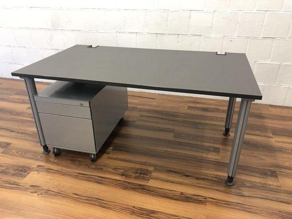 Komplettarbeitsplatz Schreibtisch Kinnarps Rollcontainer K