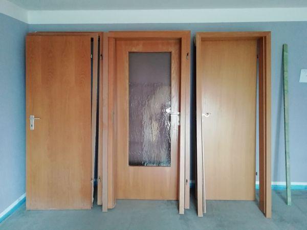 Verschenke 2 Holzinnentüren