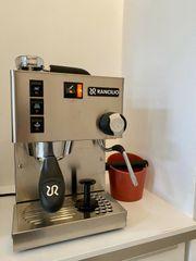 Rancilio Silvia Silber Einkreiser Espresso