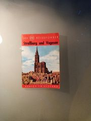 Sehr alter Reiseführer Straßburg und